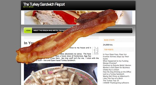 The Turkey Sandwich Report, now with Bacon!
