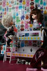 Come'on Nessie (erregiro) Tags: boy girl ball asian doll babies room story elf neko bjd resin resina nessie jointed elfo lati erregiro