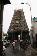 チェンナイのヒンドゥー寺院。