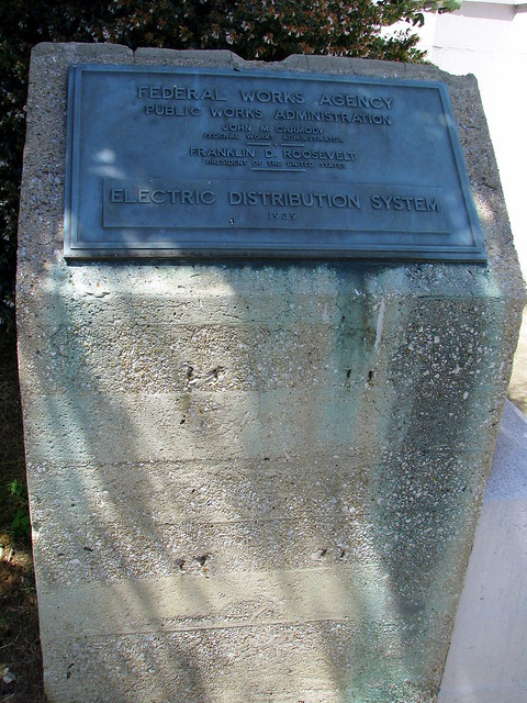 Electric Distribution System marker