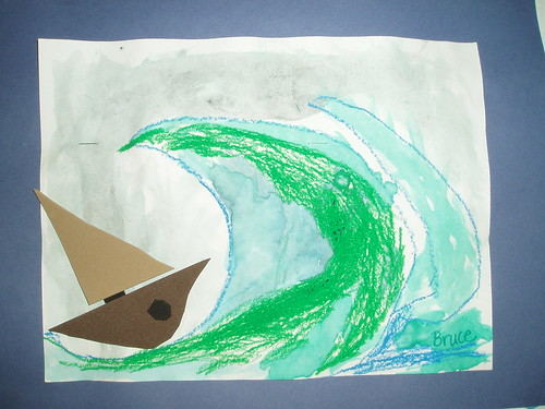 Pirate Ships -2nd grade
