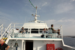 Greece - Mykonos 2008 (Chris&Steve) Tags: ferry marine ship vessel greece maritime nautical shipping greekislands 2008 chora cyclades mykonos greekisles ellda  hells hellenicrepublic 10millionphotos    ellnikdmokrata elinikiimokratia