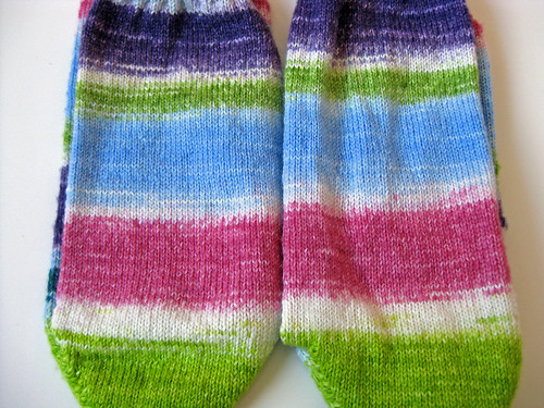 Stripey Scout Socks- Lined Up