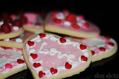 """All you need is love"" (nushuz) Tags: hearts bokeh allyouneedislove abigfave valentinecookiesbakedwithlove bythegrandkids"