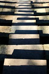 Seventeen Steps (Delay Tactics) Tags: light shadow one eyes steps abraham explore seven l 17 heights seventeen haphazartshapesshadows haphazarttransitions haphazartmetamorphosis haphazartirregular