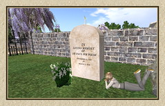 Still On My Mind... (CallieDel Boa- in and out...) Tags: memorial dad memories sl secondlife fl tribute