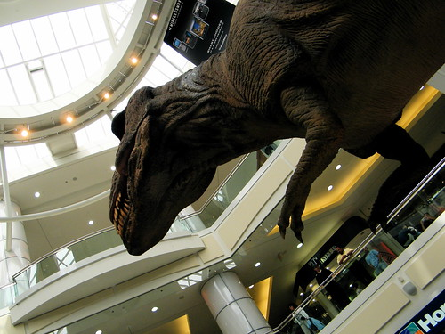 Dinosaurs Unearthed... in the mall