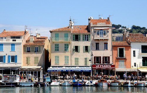 Cassis waterfront by Diego Cupolo