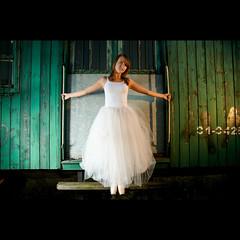 (Marcin Sowa) Tags: lighting ballet woman girl canon project dance nikon ballerina dress dancing dancer nikkor delicate filters krakw cracow cls cto balet shadowlight resco krakoff strobist 18105mm sb900 danceproject ex580ii