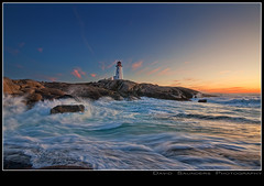 WTF Dave?! More Peggy ?! (Dave the Haligonian) Tags: ocean longexposure sunset sea sun lighthouse seascape canada motion horizontal coast rocks waves novascotia atlantic shore maritime granite splash peggyscove davidsaunders dsc0921 wtfdavemorepeggy