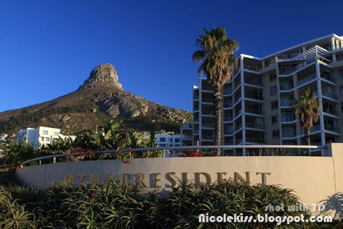 the president hotel and mountain