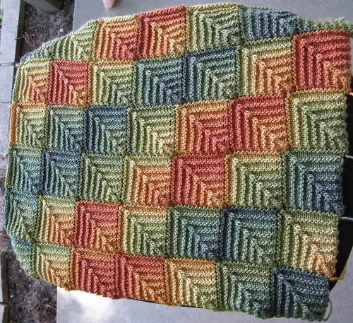 Knitting Patterns Using Squares And Rectangles : Module Magic KnitterlyAnnes Musings