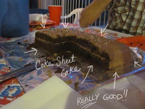 Coke-a-Cola Sheet Cake