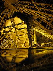 Eiffel Tower stairway