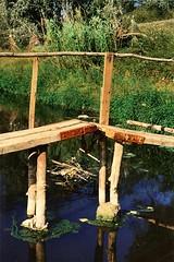 Detall de la passera (antiga) sobre l'Anoia (jriusp) Tags: montserrat sitges sender riu anoia gr5 vinyes camí gelida passera santllorençdhortons altpenedès pagesos