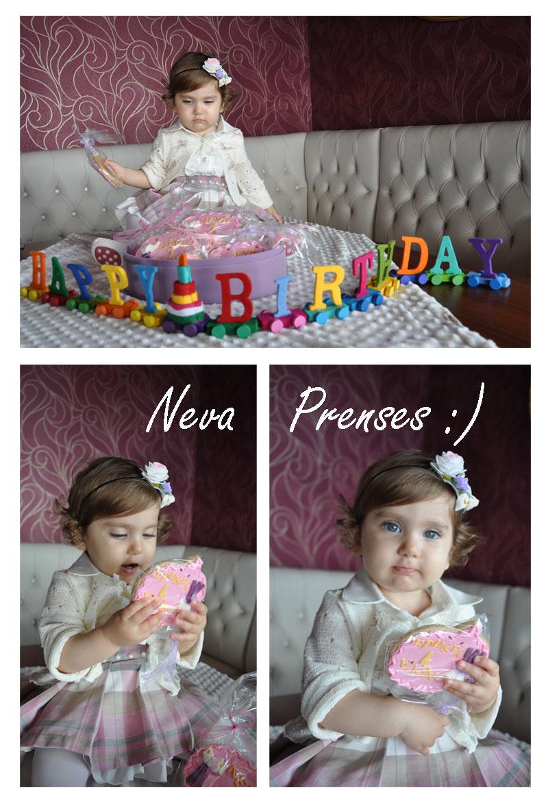 Neva Prenses Kurabiyeleri ile :)