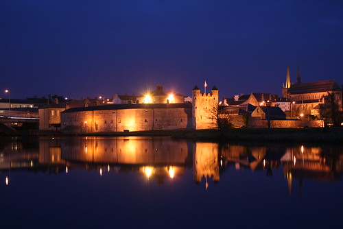 Enniskillen by night