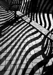 flow (Harry Halibut) Tags: shadow blackandwhite bw noiretblanc seat south yorkshire curves curved allrightsreserved barnsley pavers wombwell linescurves 123bw anglesanglesangles obliquemind obliquamente wombwll080226058a andrewpettigrew