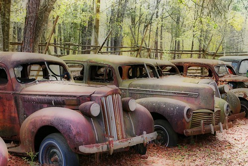 Old cars in HDR by minds-eye, on Flickr