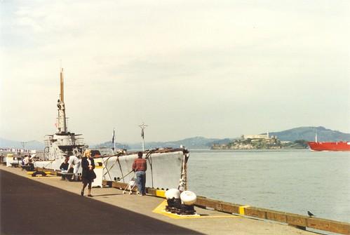 USS Pampanito (SS-383) (and Alcatraz)
