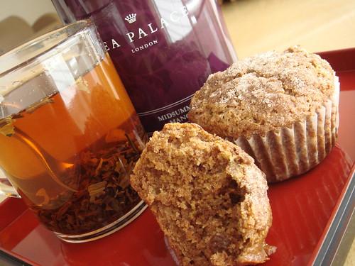 Apple Pecan Spice Muffin