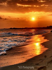 serenity (alvinkredible) Tags: sunset sky orange sun beach landscape hawaii sand nikon bright oahu vibrant serene radiate ih whitewash ocen ac3 vr18200 d80 fdream alvinkredible alemdagqualityonlyclub
