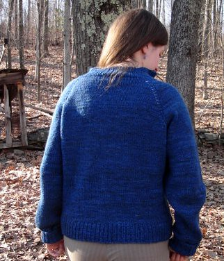 Toney Road Sweater - back