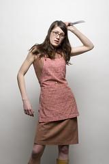 Rita 5 (grahamcase) Tags: girl rita knife apron emilycarr photo1 studioflash