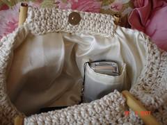Fat bag forrada (Agulha de tric) Tags: bolsa croche fatbag