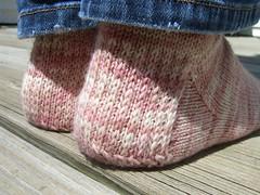 1st Socks- the heel