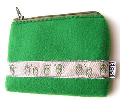 Green Owls Gadjet Cozy