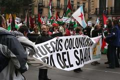 Manifestación por la autodeterminación del pue...