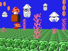 3-D Super Mario Bros. - Blooper (NES--still-the-best) Tags: ocean old school 3 game seaweed flower art nerd mushroom water up swim 1 video 3d coin bowser geek princess brothers coins emulator d nintendo pipe peach 8 kingdom sprite super mario games atari retro gaming gamer squid level toad pixel sega toadstool block nes 16 8bit 1up stomp sprites pixels bros luigi rom bit miyamoto blooper vector famicom enemies cartridge retainer shigeru koopa roms voxel bloober voxels