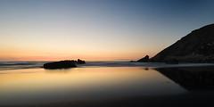 Playa del Sabln (elosoenpersona) Tags: sunset sea espaa beach atardecer mar spain asturias playa sablon cantabrico bayas cantbrico playon sabln elosoenpersona