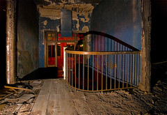 XS DK (Noel Kerns) Tags: abandoned home night circle texas sherman woodmens