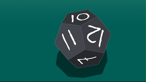 Futurama Juego de Bender dado dodecaedro