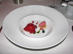 Per Se: Glace a la fraise