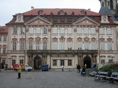 Kinsky Palace on the Old Town Square