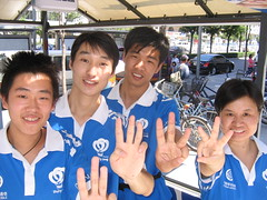 Sustainability Salute - Green Olympic Volunteers, Beijing China_0050