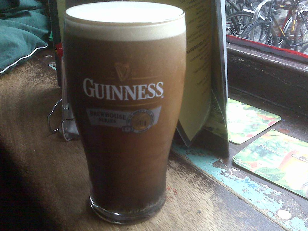 Guinness in Farrington's pub, Dublin