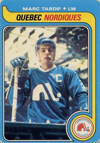 Marc Tardif, Quebec Nordiques, 79-80 O-Pee-Chee, NHL, hockey, hockey card