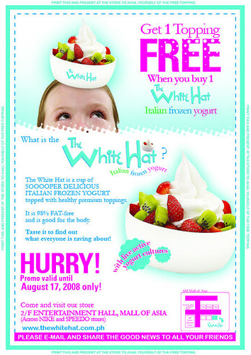 The White Hat Coupon