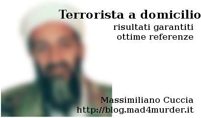 terrorista a domicilio