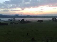 cameraphone cymru landscape mist mobile n82 nokia sunrise wales belial httpwwwrljonescouk