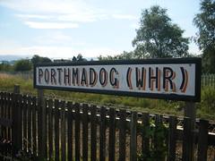 Porthmadog (WHR)