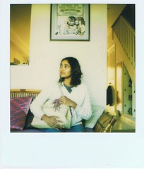 prema and the wild things (the doubtful guest) Tags: polaroid scanned wildthings prema no23 thankstolibby