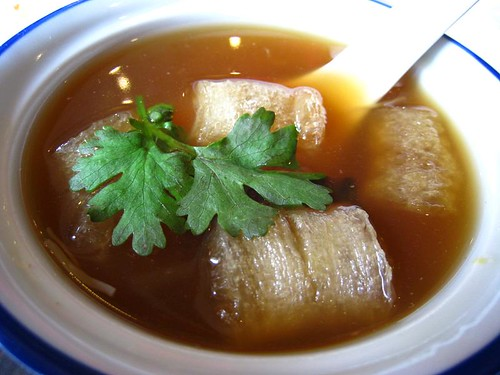 Kra Phoh Pla Nam - Thai Fish Maw Soup