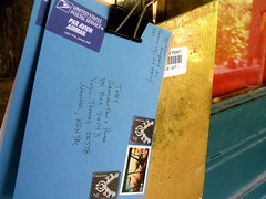 On its way (mauxditty) Tags: toby mailbox post mail kenya stamps letter usps airmail paravion