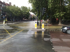 Flooding in Kennington