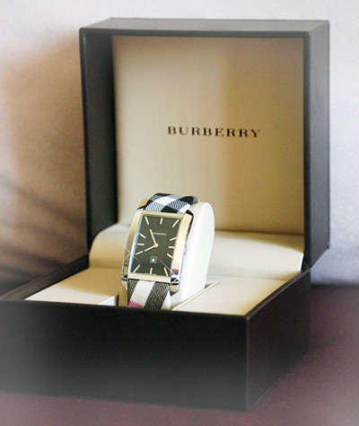 watch burberry